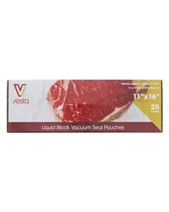 Vesta vacuümzakken liquid block 27,9 x 40,6 cm 25 stuks