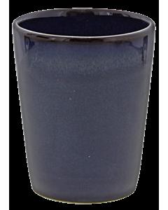 Oldenhof 1821 beker 300 ml aardewerk blauw