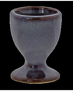 Oldenhof 1821 eierdop 6 x 5 cm aardewerk olijfgrijs