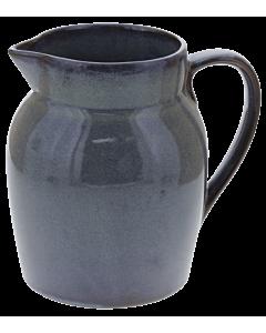 Oldenhof 1821 Hazelnut karaf 1 liter aardewerk olijfgrijs