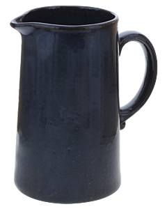 Oldenhof 1821 Cilinder karaf 1,2 liter aardewerk blauw