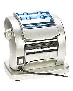 Imperia Pasta Presto elektrische pastamachine 14 cm staal glans