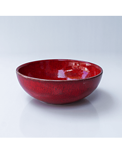 Oldenhof 1821 ontbijtkom ø 16 cm aardewerk rood