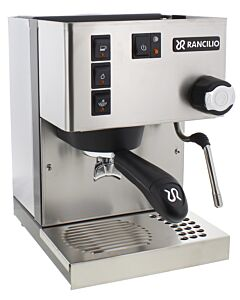 Rancilio Silvia espressomachine model 5E rvs mat
