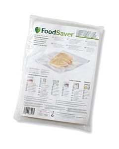 FoodSaver vacuümzakken 28 cm transparant 32 stuks