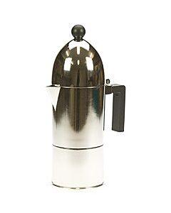 Alessi La Cupola mokapot 6-kops aluminium glans
