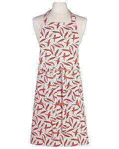 Now Designs Caliente schort 85 x 70 cm katoen rood