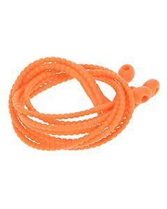 Foodloop rolladetouw 37 cm silicone oranje 4 stuks