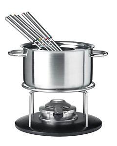 Spring Basic fondueset ø 18 cm 6-persoons rvs
