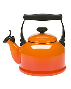 Le Creuset Tradition fluitketel 2,1 liter staal vulcanique