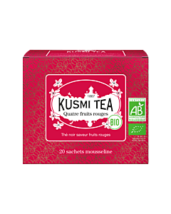 Kusmi Tea BIO Four Red Fruits 20 theezakjes rood