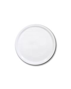 Oldenhof Napoli pizzabord ø 33 cm aardewerk wit