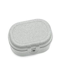 Koziol Pascal Mini lunchbox 9,6 x 7 x 5,2 cm grijs