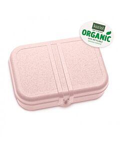 Koziol Pascal L lunchbox met scheidingsplaat 23,2 x 16,6 x 6,2 cm roze