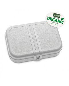 Koziol Pascal L lunchbox met scheidingsplaat 23,2 x 16,6 x 6,2 cm grijs