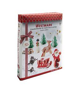 Westmark uitsteekvorm kerst rvs 5-delig