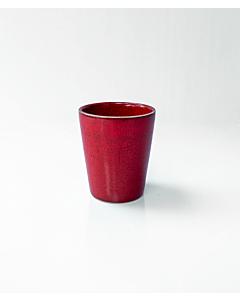 Oldenhof 1821 beker 300 ml aardewerk rood