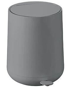 Zone Denmark Nova afvalemmer kunststof 5 liter grijs