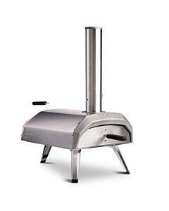 Ooni Karu houtskool pizza-oven rvs