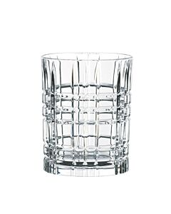 Nachtmann Square whiskyglas 345 ml kristalglas 4 stuks