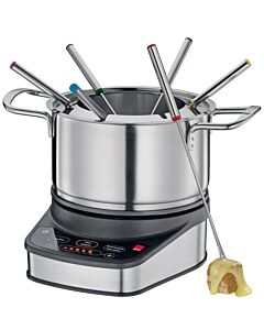 Spring Professional elektrische fondueset ø 18 cm 6-persoons