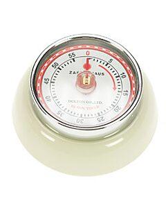 Zassenhaus Timer Speed kookwekker 7 cm metaal crème