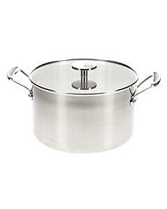 Mauviel M'Cook kookpan rond 24 cm rvs glans
