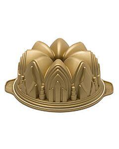 Silikomart tulband kathedraal ø 22 cm silicone goud