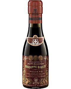 Giuseppe Giusti Riccardo Giusti balsamico-azijn 12 jaar 100 ml in champagnefles