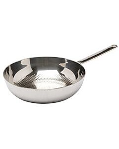 BK Conical Deluxe wok ø 30 cm rvs