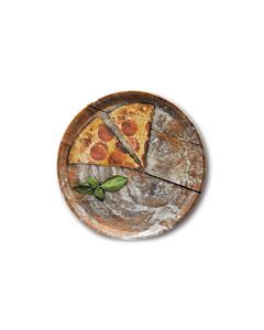 Oldenhof Napoli pizzabord ø 33 cm aardewerk gekleurd