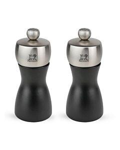Peugeot Fidji Noir geschenkset 12 cm hout mat zwart