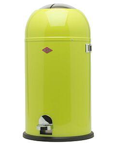 Wesco Kickmaster afvalemmer rond 33 liter lime-groen