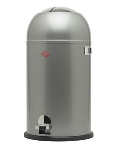 Wesco Kickmaster afvalemmer rond 33 liter zilver