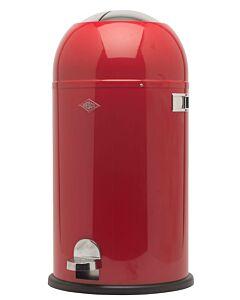 Wesco Kickmaster afvalemmer rond 33 liter rood