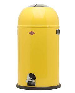 Wesco Kickmaster afvalemmer rond 33 liter lemon-yellow