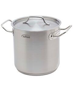 Inoxibar industriële soeppan 16 liter ø 28 cm rvs mat