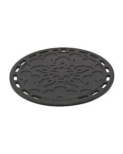 Le Creuset pannenonderzetter ø 20 cm silicone zwart