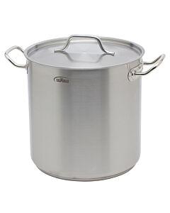 Inoxibar industriële soeppan 6 liter ø 20 cm rvs mat