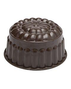 Gobel puddingvorm 1,7 liter ø 18 cm staal bruin