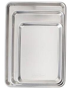 Nordic Ware Baker's Delight bakplatenset aluminium 3-delig