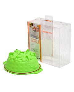 Silikomart tulbandvorm lente ø 20 cm silicone groen geschenkverpakking