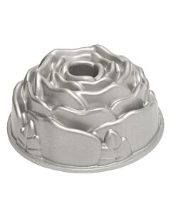 Nordic Ware Rose Bundt tulband ø 23 cm gietaluminium grijs
