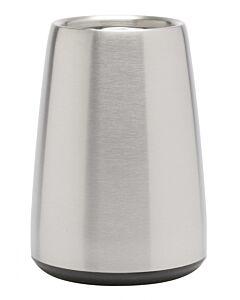 Vacu Vin Elegant Rapid Ice wijnkoeler 20 cm rvs mat