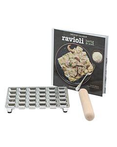 Ravioli hartig & zoet kookkit met raviolimat