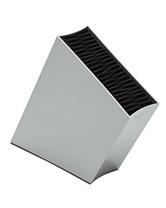 Eva Solo messenblok schuin aluminium grijs