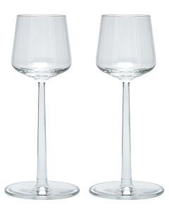 Iittala Essence sherryglas 150 ml glas transparant 2 stuks