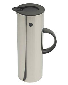 Stelton thermoskan 1 liter rvs mat