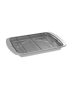 Nordic Ware Oven Crisp braadslede 39,6 x 29,5 cm aluminium