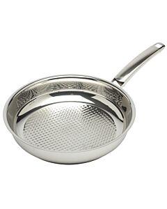 Fissler Crispy Steelux Premium koekenpan ø 28 cm rvs glans